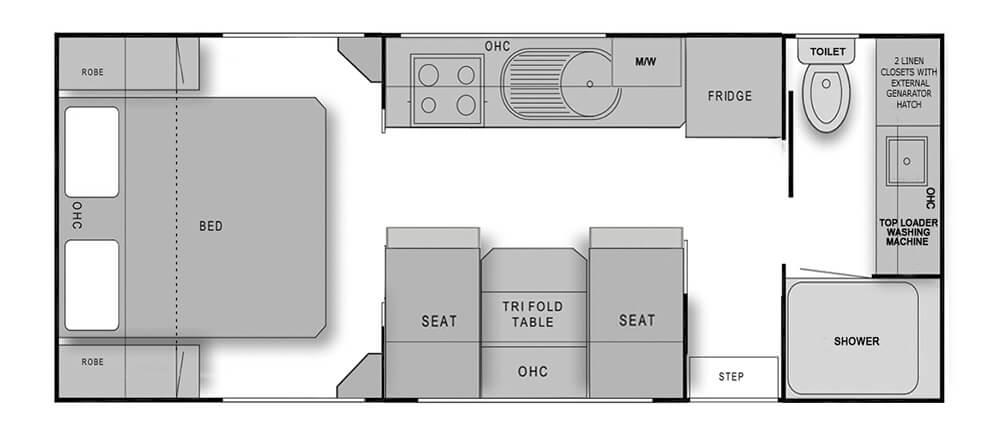 208 Rear Door - Kitchen Door Off Side