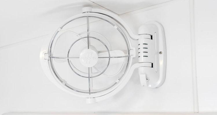 Custom in-built Fan